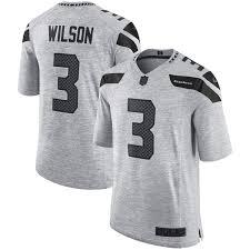 Russell Jersey Russell Wilson Wilson Platinum