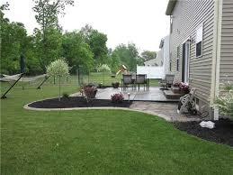 landscape patios. Landscaping Idea For Around Patio | Outdoor Spaces Pinterest . Landscape Patios