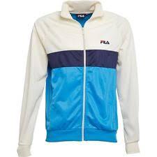 fila 80s tracksuit. fila mens retro 90s off white top 80s track jacket casuals vintage borg tracksuit