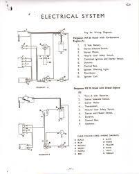 massey ferguson tractor parts diagram diagram for you 12 volt ferguson tractor wiring diagram wiring diagram