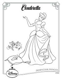 Small Picture The 40 best images about Disney princess coloring pages on