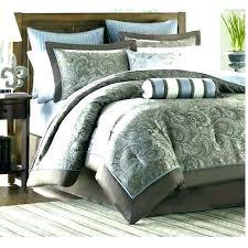 king bedding sets blue charming design brown size comforter set
