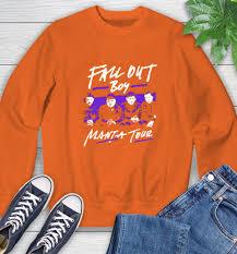 Fall Out Boy Merch Size Chart Fall Out Boy Merch Sweatshirt