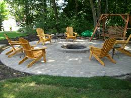 outdoor fire pit plans awesome backyard new pea gravel patio project outside designs table