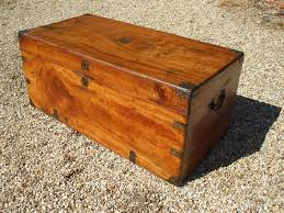 camphorwood chest outside
