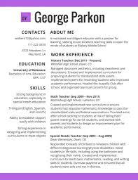 Resume Styles Resume Styles 100 Creative Resume Ideas 26