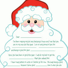 Free Pdf Printable Personalized Letter From Santa Adorable