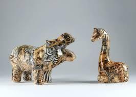 giraffe figurines hippo and giraffe figurines wooden giraffe statues for giraffe figurines