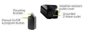 ge 45604 wave. GE ZWave PlugIn Outdoor Smart Switch Diagram Ge 45604 Wave