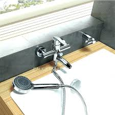 tub faucet shower attachment handheld shower head attaches to your tub spout bathtubs tub faucet handheld