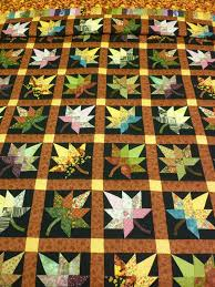 166 best Quilts - Maple Leaf images on Pinterest | Carpets, Crafts ... & autumn quilts | Autumn Splendor Quilt (King) • Amish Quilts: King Size • Adamdwight.com