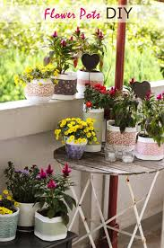 40 Cute Ways To Decorate Your Flower Pots New Flowers Decoration For Home Ideas