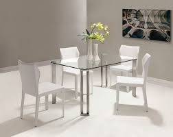 small glass dining room sets. Dining Room Small Rectangle Glass Table Peenmedia Com Inside Designs 6 Dark Wood Chairs Square Pedestal Sets T