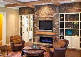 stone fireplace shelf grey stone fireplace with brown wooden mantel shelf and black led combined by