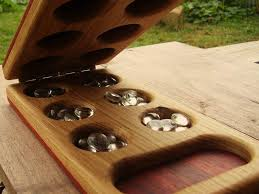 Homemade Wooden Board Games Teach Strategy and Patience with Mancala by Heartwood Natural Toys 18