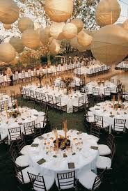 outdoor reception 90 inch round tablecloths white