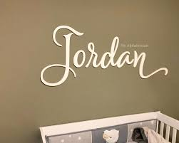 4wooden name sign for nursery wall decor baby girl boy alphabeticals name letters for wall hanging