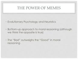 Unlearning Ethics: Ethical Memes and Moral Development via Relatably.com