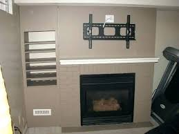 can you put a tv above a fireplace above fireplace can u mount tv above fireplace