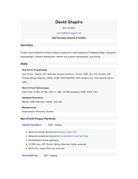 interesting resume template sample of web developer skills fullsize by barry glen interesting resume template sample of web developer