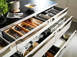 Kitchen Drawer Organizing Kitchen Cabinet Organizers Pictures Ideas From Hgtv Hgtv