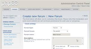 how to create a forum in phpbb kualo