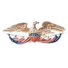 whitehall color patriotic wall eagle