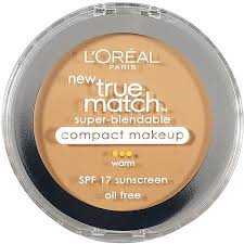 l 39 oreal warm sand beige w5 true match super blendable pact makeup 3 oz in pact makeup swatches