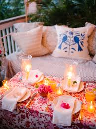Image Torch Light Outdoorsy Tropical Summer Table Lucy Cuneo