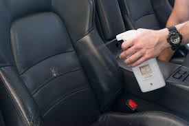 how to clean car interior leather using autoglym