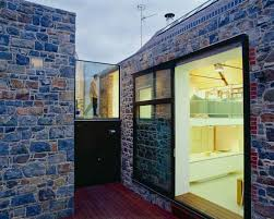 Small Picture Contemporary House with Natural Stone Exterior Walls La Concha
