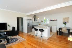 kitchen simple small apartment kitchen and open plan living room
