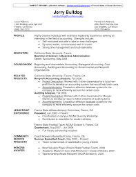 Brilliant Ideas Of Resume Examples Student Athletic Resume