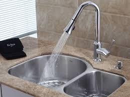 Kitchen Faucet  Awesome Kohler Vinnata Kitchen Faucet Home Design - Kitchen faucet ideas