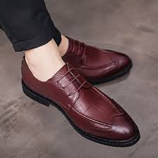 eur 38 43 handmade leather shoes men formal shoes european style office wedding oxfords shoes