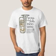 you foh nee um euphonium t shirt