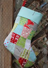 Quilted Christmas Stocking Pattern Impressive Quilted Christmas Stocking Pattern FaveQuilts