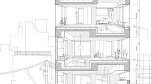 Perfect architectural elevation drawings on architecture 19 within for plan section elevation drawings