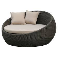 wicker day bed. Unique Day Newport Outdoor Wicker Day Bed Brushed Charcoal To