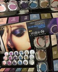 6 loreal infallible 24 hr eyeshadow erfly collection plete set image for