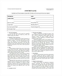 Rental Agreement Template Free Word Documents Creative Residential