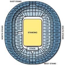Keenan Stadium Seating Chart Keenan Cahill Wembley Stadium Seating Plan