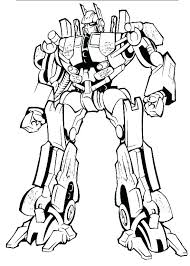 Transformers Bumblebee Coloring Pages Bumblebee Transformer Coloring