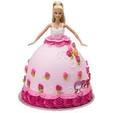 3 Kg Barbie Cake