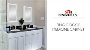 Design House Medicine Cabinet Design House Singe Door Medicine Cabinet Product Overview