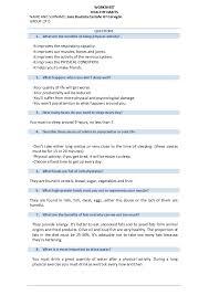 Worksheets healthy