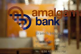 new logo and ideny for amalgamated bank by penram