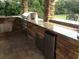 Granite For Outdoor Kitchen Outdoor Kitchen Grill Island Design Installation Lexington