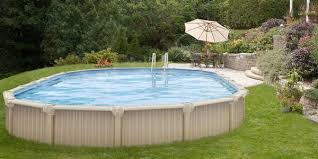 semi inground pool cost. Semi-Inground Pools Are Becoming Very Popular. Many People Might Have A High Water Table, Rock, Hillside, Or Any Number Of Uncontrollable Factors Which Semi Inground Pool Cost E