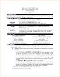 Bsc Resume Sample Bsc Computer Science Resume Format Sugarflesh 32